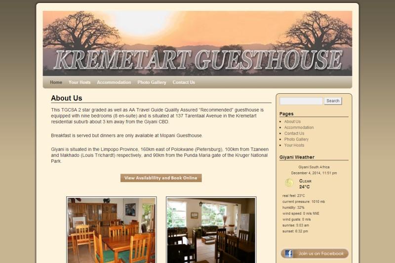 Kremetant Guesthouse