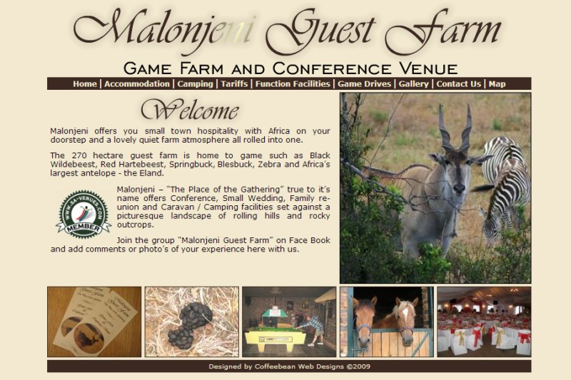 Malonjeni Game Lodge & Caravan Park